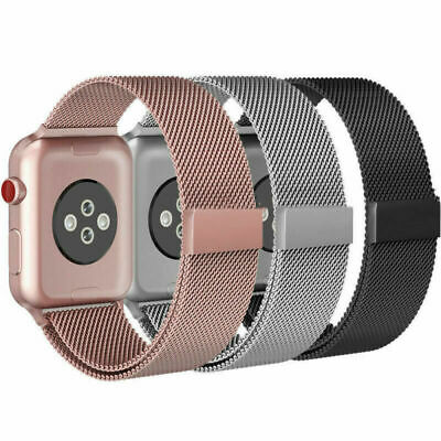 Magnetic Milanese watch Band iWatch Strap for Apple Watch Series 4 3 2 1