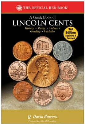 New Official Red Book Guide US Lincoln Cents Coin Price Collector Gift 3 Edition