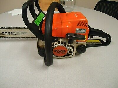 STIHL CHAINSAW MS170 with 14'' Bar and Chain Runs Good