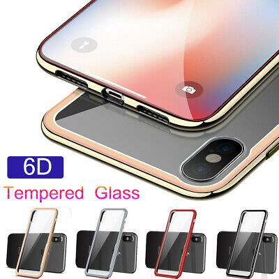 Ultra Thin Slim Clear Plating Shockproof Case Cover for Apple iPhone XS XR 7 8+