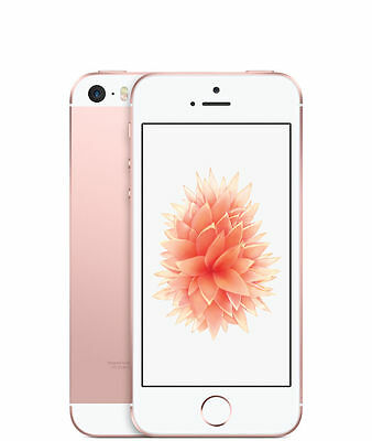 Apple iPhone SE - 32GB - Rose Gold (Straight Talk/ Tracfone A1662 EXCELLENT