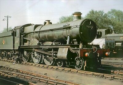 Photo Steam GWR Hall Loco 5968 Cory Hall 6X4