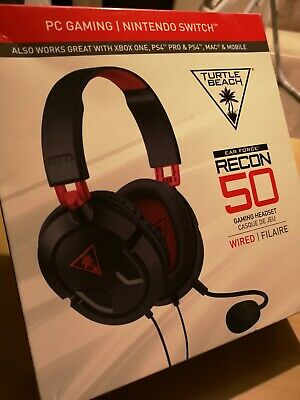 2e52ab18d71 TURTLE BEACH RECON 50 Headset PC Nintendo Switch Xbox PS4 - £39.99 ...