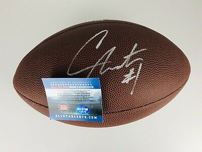 CAM NEWTON Carolina Panthers Autographed Authentic NFL Football