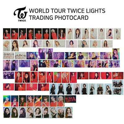TWICE - TWICE WORLD TOUR 2019 TWICE LIGHTS Official Trading Card