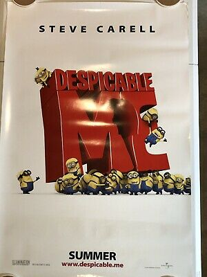 """DESPICABLE ME Original Movie Poster 27"""" X 40"""" DS/Rolled - 2010"""