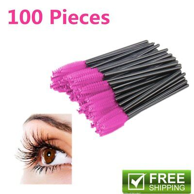 Disposable Mascara Wands Eyelash Brushes Applicator Lash Extension Brush Wand GN