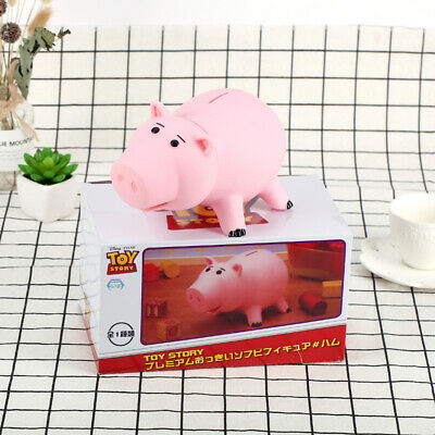18CM Toy Story 4 Hamm Piggy Bank Pink Pig Coin Box PVC Model Toys For Children