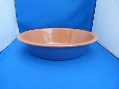 Collectable Stoneware Pottery Oval Shaped Pie Cooking Baking Jpg