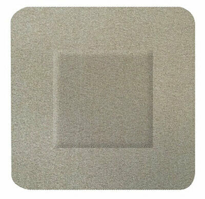 FABRIC SQUARE PLASTERS 100 (Pack of 100)