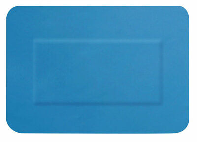 DETECTABLE LARGE PATCH PLASTERS 50 BLUE (Pack of 50)