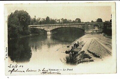 CPA - Carte Postale-FRANCE -Neuilly - Le Pont - 1904 VM4317
