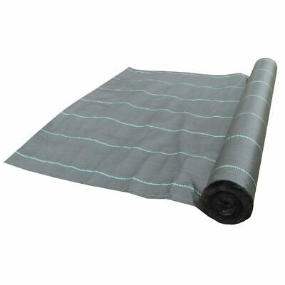 *** FREE PEGS *** 1.5m wide 100g weed control fabric ground cover membrane