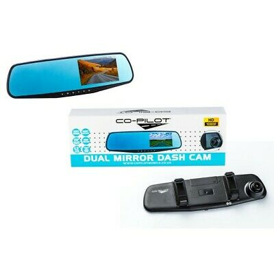 CO PILOT Rearview Dual Video Recorder Camera System CPDVR3