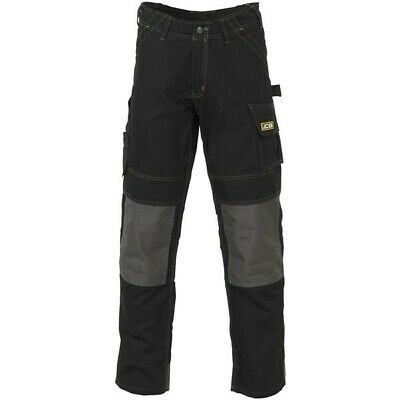 JCB Cheadle Pro Trousers - Black - 30in. Waist (Tall) D-WDB/30