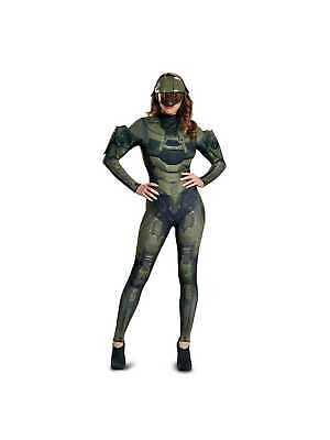 New Halo Master Chief Adult Costume XL /& Helmet by Disguise 89986 Costumania