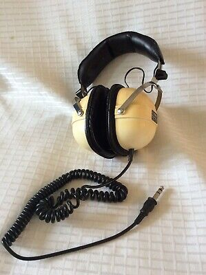Vintage Best SH-1300 Headphones With Coil Cable ~ Working