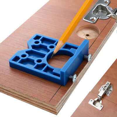 35mm Hinge Jig ABS Plastic Hinge Installation Wood Drill Guide Hinge Hole Boring