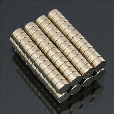 JQ/_ Mini 10 x Super Strong Small Disc Magnets 20mm x 3mm Round Rare Earth Neod