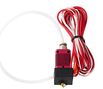 24V 40W Extruder Nozzle Hot End Kit with Temperature Thermistor & Heating Tube f