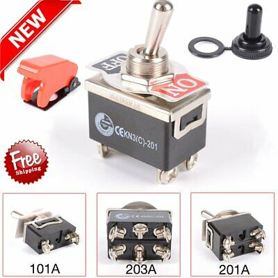 Waterproof Toggle Flick Switch 12V ON/OFF Car Dash Light 2/4/6 pin SPST AUAYP&AB