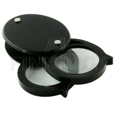 Double Lens Eyeglass 5x 10x Loupe Magnifier Glass craft tool