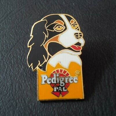 Pin badge pin's Epagneul chien chasse hunt dog pedigree pal marque animaux