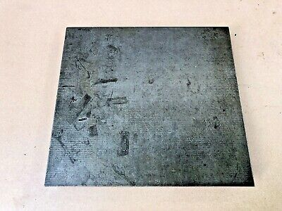 """11 3/4"""" x 12 5/8"""" Cast Iron Surface Plate, Vintage, Machinist Tool, Free Ship"""