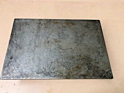 """18"""" x 12"""" x 4"""" Cast Iron Surface Plate, .540"""" Thick, Machinist Tool, Free Ship"""
