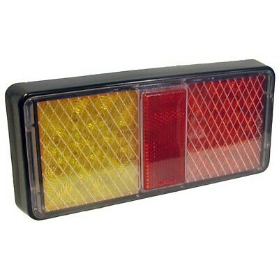 MAYPOLE 12/24V LED Rear Rectangular Combination Lamp MP861