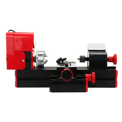6 in 1 Mini Metal Lathe Wood Tool Jigsaw Milling Lathe Drilling Sanding Machine