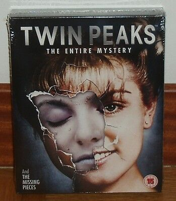 Twin Peaks The Entire Mystery Serie Completa 10 Blu-Ray Nuovo Sigillato New R2