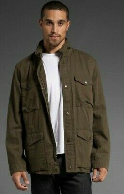 3d7a28a16 RRP $595 MENS Helmut Lang Reversible Bomber Jacket. Green And Gold ...