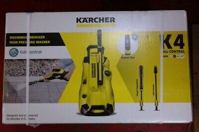 Karcher K4 Full Control Pressure Washer Car Bike Patio Garden Home Cleaner