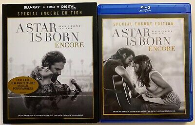 A Star Is Born Blu Ray Dvd 2 Disc Set Special Encore Edition + Slipcover Sleeve