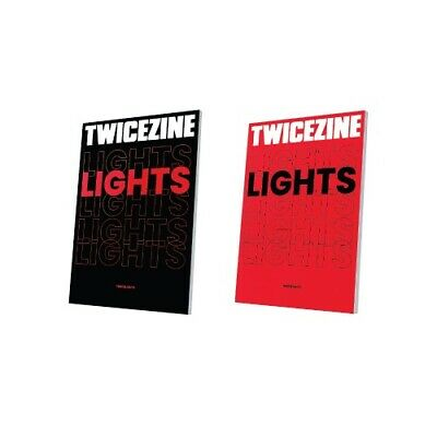 TWICE - WORLD TOUR TWICE LIGHTS Official Goods - TWICEZINE Photo Book 100p