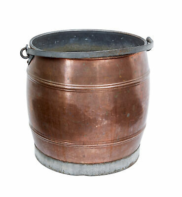 Late 19Th Century Arts And Crafts Copper Bucket