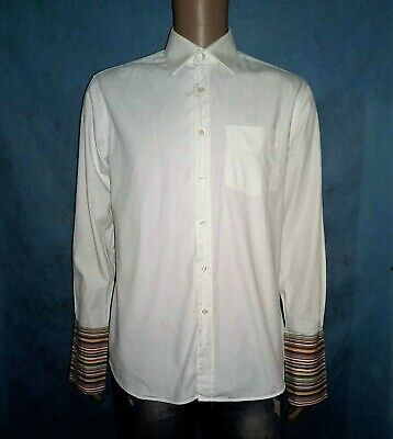 Shirt Paul Smith Cotton Size 41/16 or M Very Good Condition