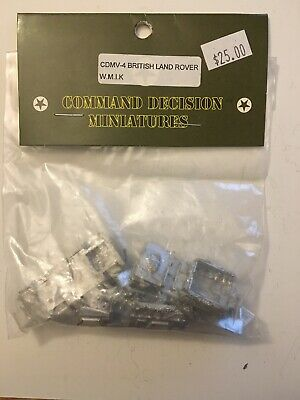 "Flashpoint Resin 15mm M113 FSV ""Beast"" Vietnam Miniatures Vehicle Metal NIB OOP"