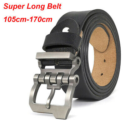 2019 Designer Mens Belts Big and Tall Size S-9XL Casual Belts for Jeans 3 Colors