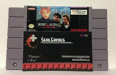 Home Alone 2: Lost in New York (Super Nintendo Entertainment System) Authentic