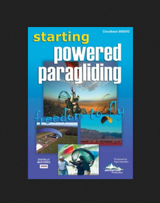 """Starting Powered Paragliding """"Freedom To Fly"""" Adventure Productions DVD"""