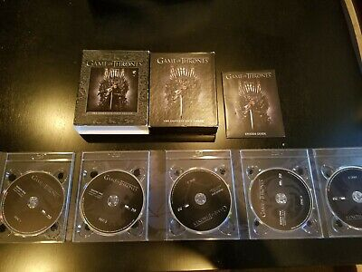 Game of Thrones: The Complete First Season (Blu-ray, 5-Disc Set)w/Episode Guide