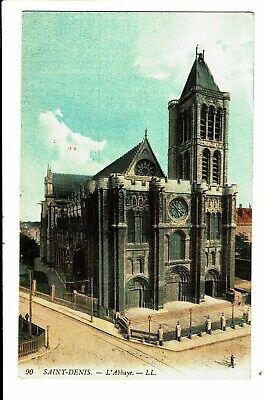 CPA - Carte postale-FRANCE -Saint Denis  - L'abbaye - 1910--VM4353