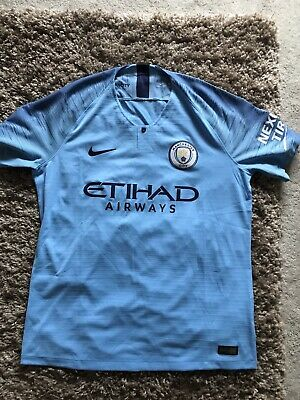 8c2c32947 MANCHESTER CITY NIKE Pre Match Jacket White Franchise Authentic n98 ...