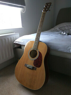 Burswood Acoustic Guitar, with Music Stand and Accessories