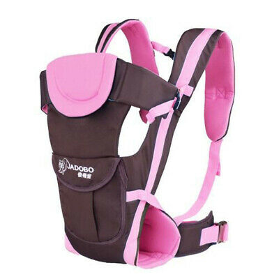 Infant Baby Carrier Breathable Ergonomic Adjustable Wrap Sling Backpack Newborn