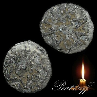 EANBALD EADWULF Scarce Silver Sceat. Phase I. Metal detecting find. 25g SS