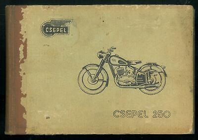 ORIGINAL Owner's Handbook CSEPEL 250 Manual in English Moto Manuel Pièces Parts