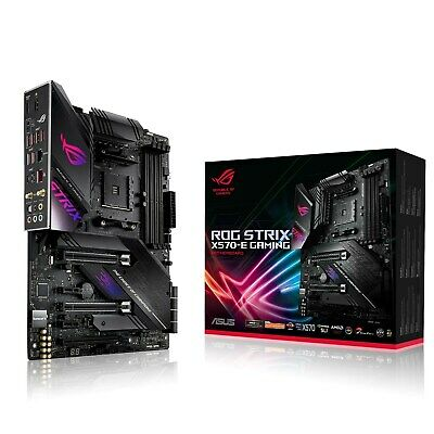 ASUS ROG Strix X570-E Gaming ATX Motherboard for AMD AM4 CPUs